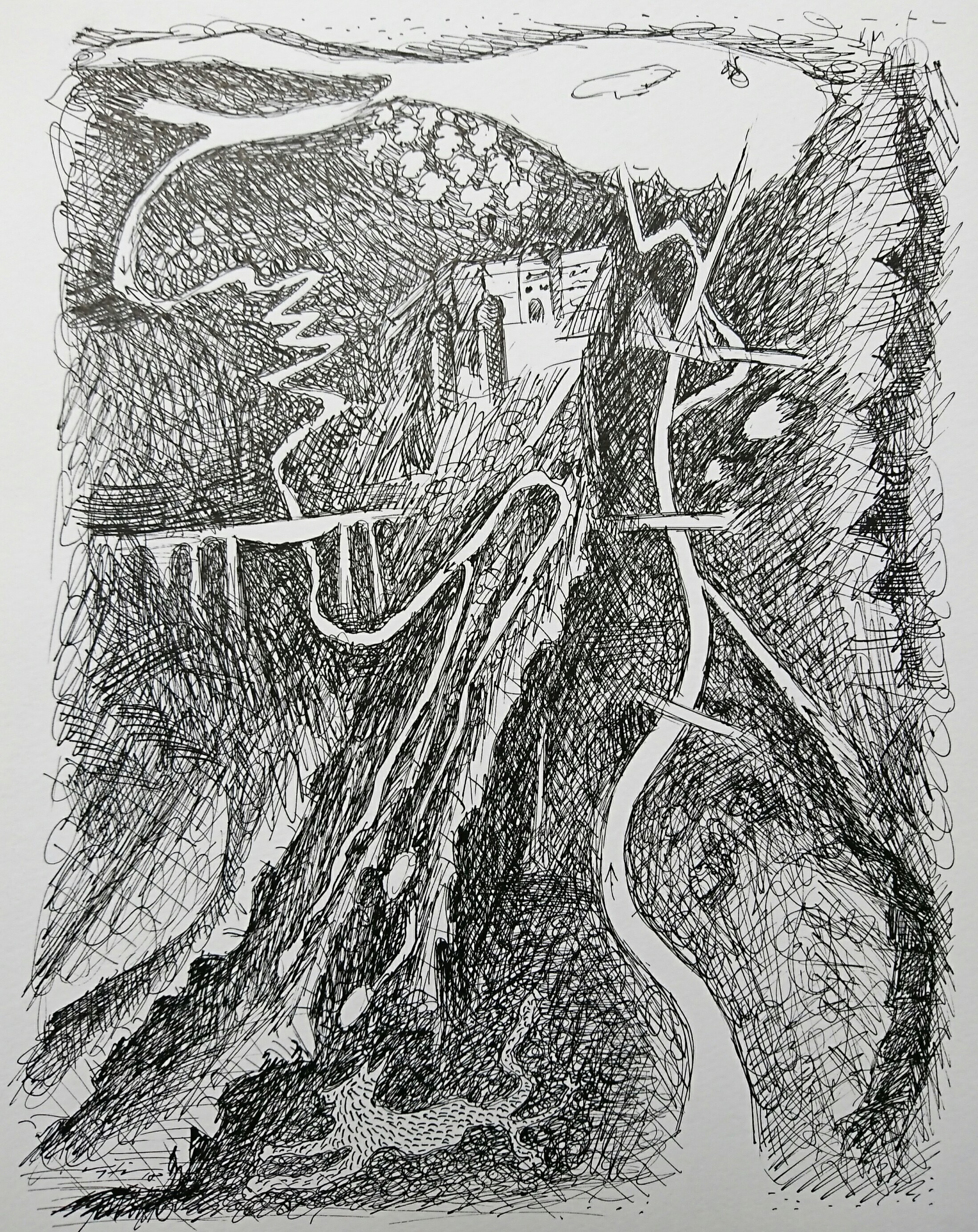 Urs Kupferschmied Zeichnung